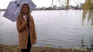 Regenschirm-Test