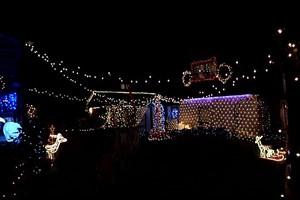 Ein Lichtermeer zur Weihnachtszeit